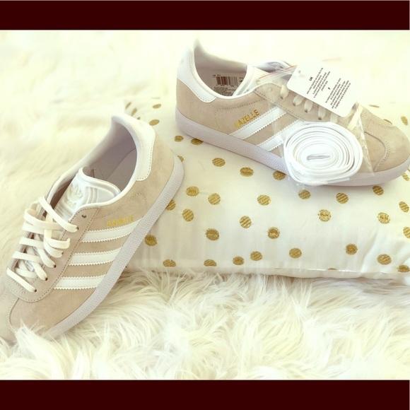 Adidas zapatos  mujer Gazelle tangold detalle NWT poshmark